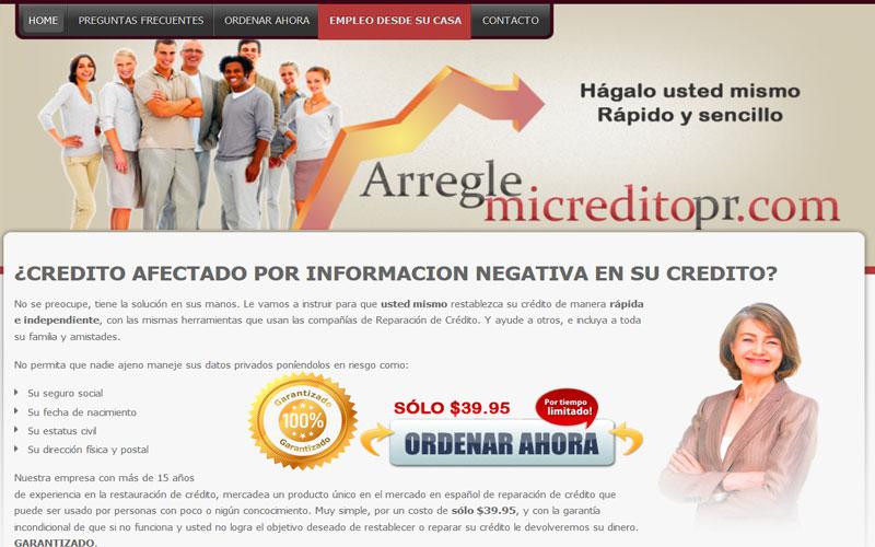 Arreglemicreditopr.com