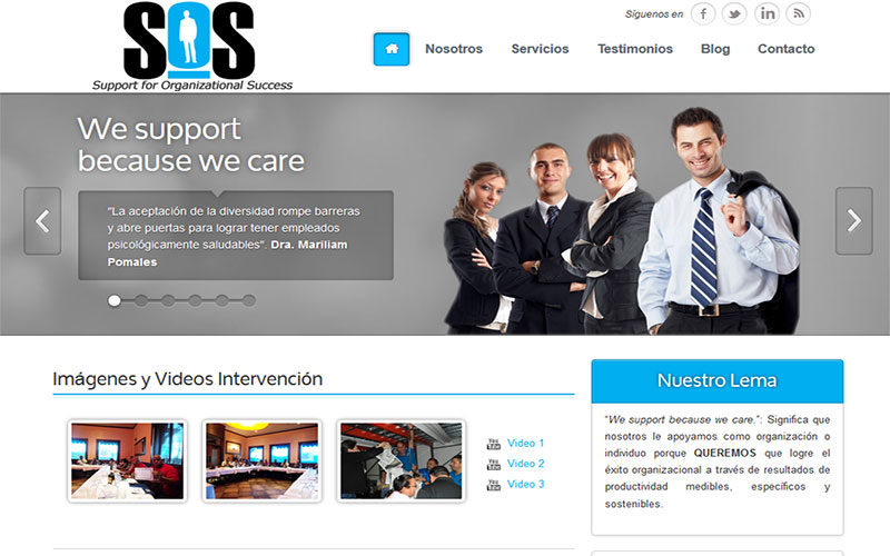 Support for Organizational Success