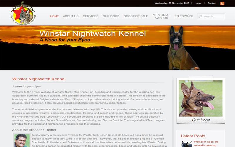 Winstar | Adiestramiento de Perros